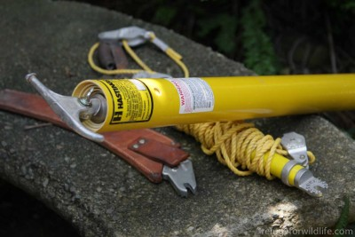 safety equipment used to save wildlife from electrical wires